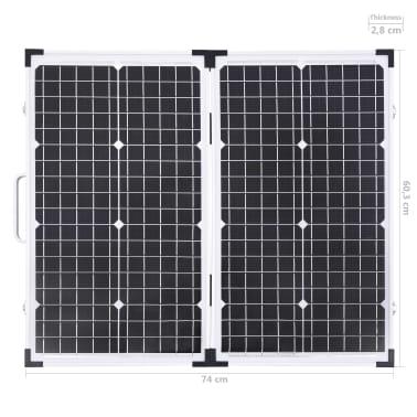 vidaXL Sulankstomas saulės modulis, 60W, 12V[14/15]