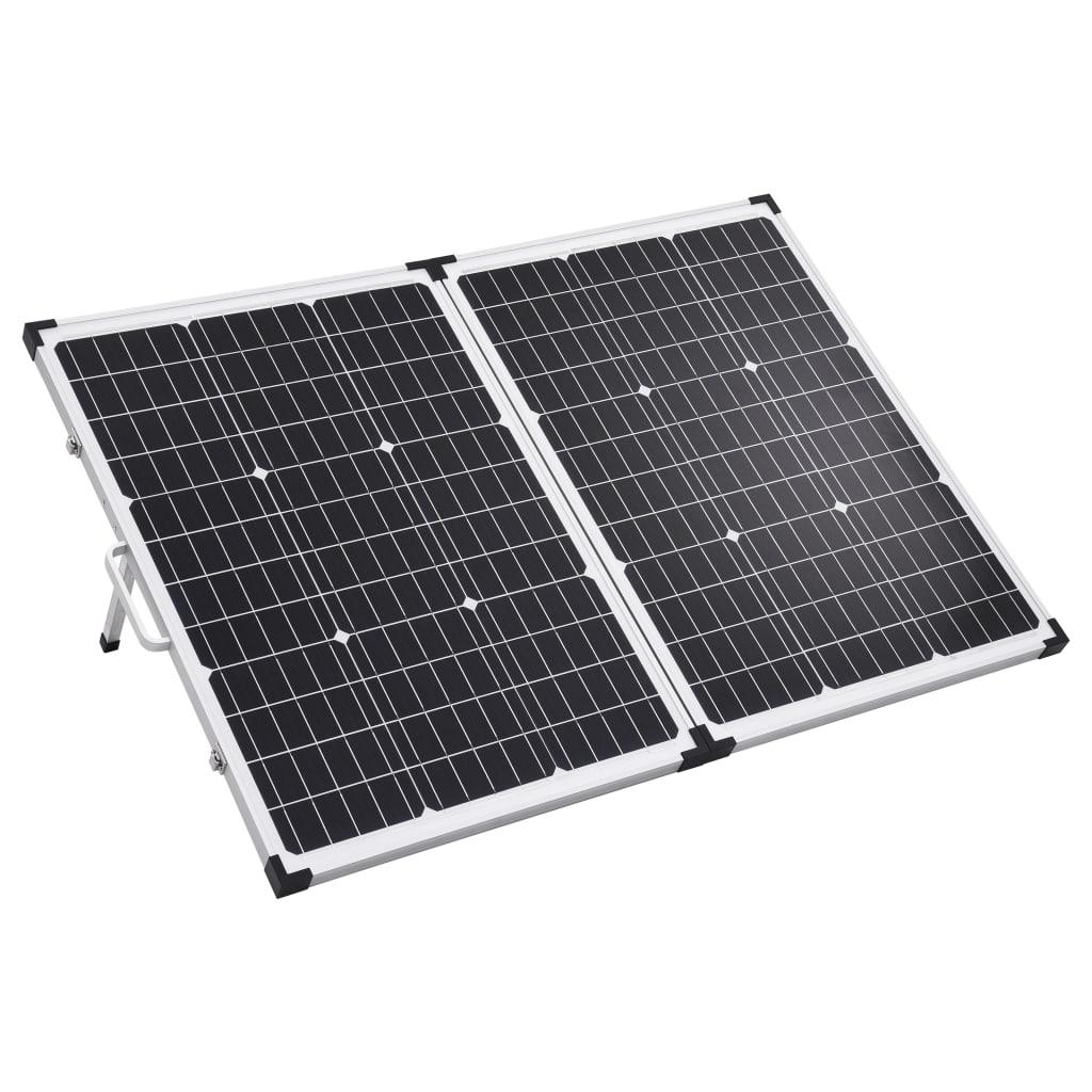vidaXL Panou solar pliabil portabil 120 W 12 V poza vidaxl.ro