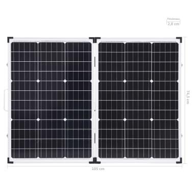 vidaXL Sulankstomas saulės modulis, 120W, 12V[15/16]