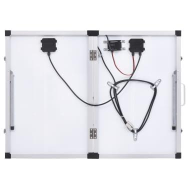 vidaXL Sulankstomas saulės modulis, 120W, 12V[6/16]