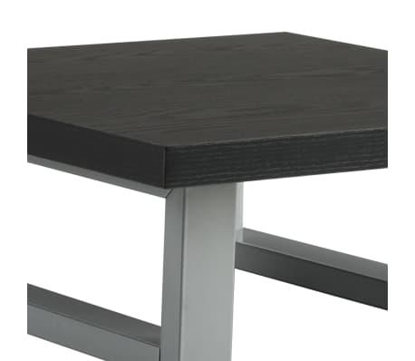 vidaXL Vonios kambario baldas, juodas, 40x40x16,3cm[5/8]