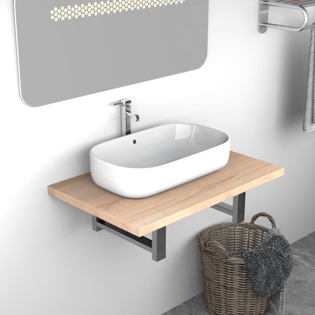 Koupelnový nábytek dub 60 x 40 x 16,3 cm
