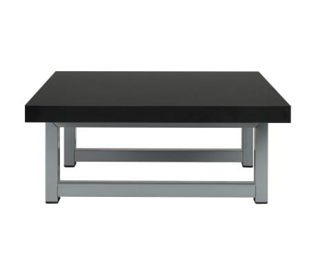 vidaXL Vonios kambario baldas, juodas, 60x40x16,3cm[4/9]