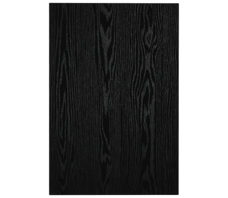 vidaXL Vonios kambario baldas, juodas, 60x40x16,3cm[7/9]
