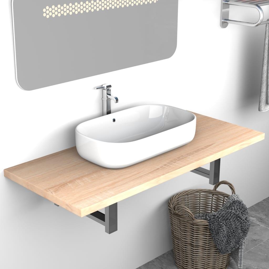 Koupelnový nábytek dub 90 x 40 x 16,3 cm