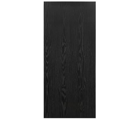 vidaXL Vonios kambario baldas, juodas, 90x40x16,3cm[7/9]