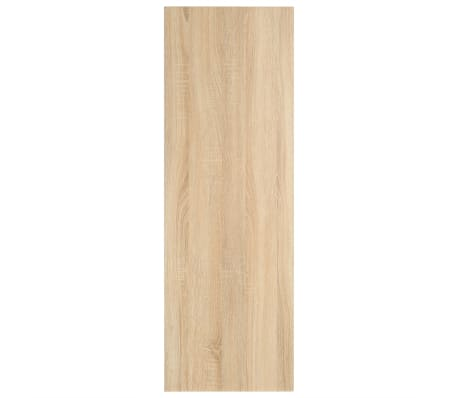 vidaXL Vonios kambario baldas, ąžuolo, 120x40x16,3cm[7/9]