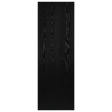 vidaXL Vonios kambario baldas, juodas, 120x40x16,3cm[7/9]