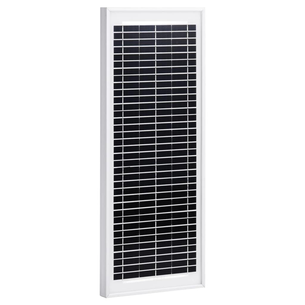 vidaXL Solární panel 10 W polykrystalický hliník a bezpečnostní sklo