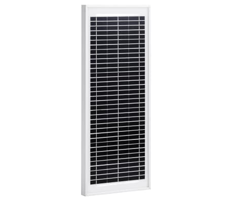 vidaXL Solar Panel 10 W Polycrystalline Aluminium and Safety Glass