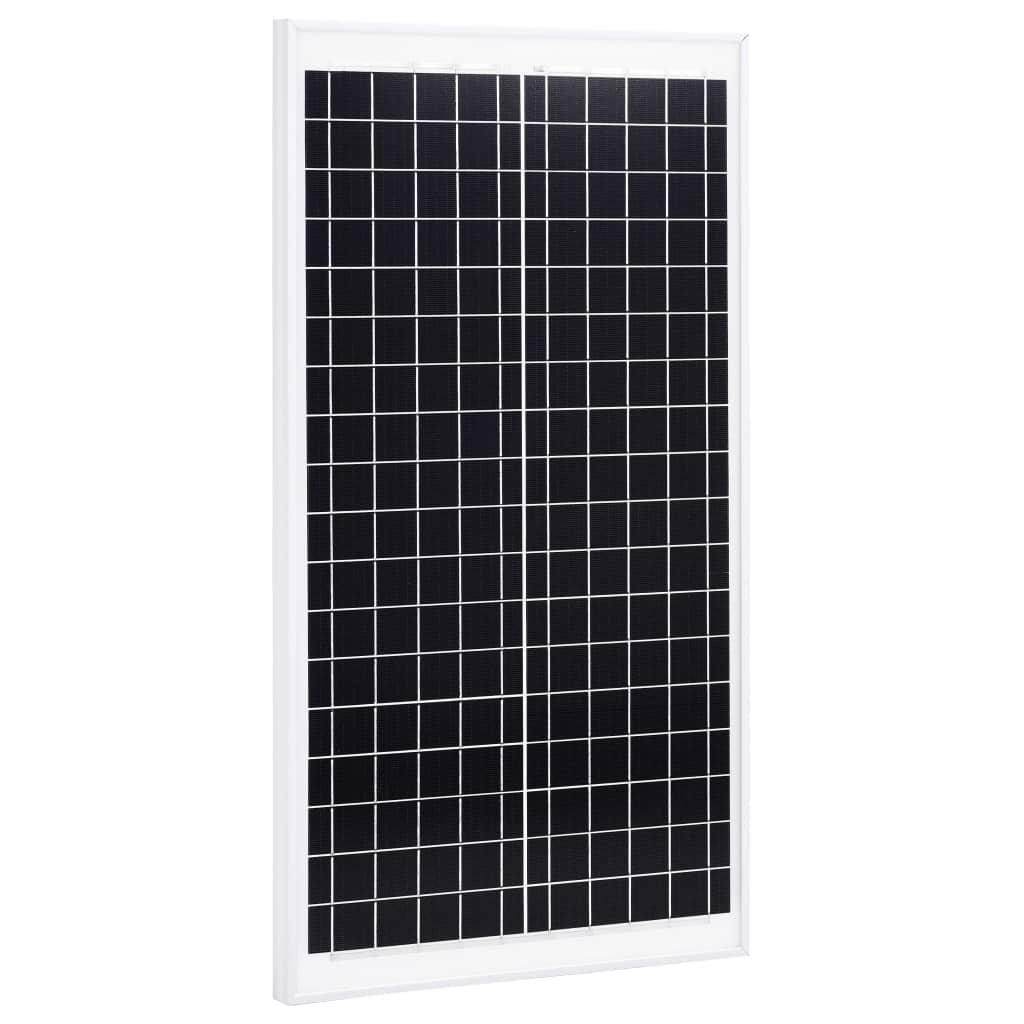 vidaXL Solární panel 30 W polykrystalický hliník a bezpečnostní sklo