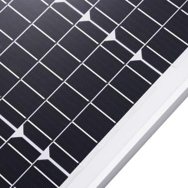 vidaXL Saulės energijos plokštė, aliuminis, apsauginis stiklas, 40W[5/9]