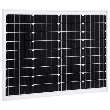 vidaXL solcellepanel 50 W aluminium og sikkerhedsglas[1/9]