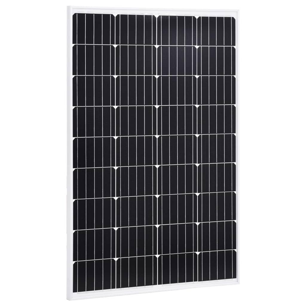 vidaXL Solární panel 120 W hliník a bezpečnostní sklo