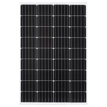 vidaXL Saulės energijos plokštė, aliuminis, stiklas, monokr., 120W[3/9]