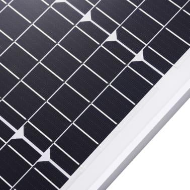 vidaXL Saulės energijos plokštė, aliuminis, stiklas, monokr., 120W[5/9]