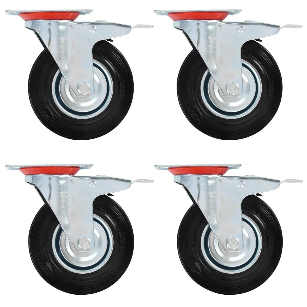 16 tk pöörlev ratas 125 mm