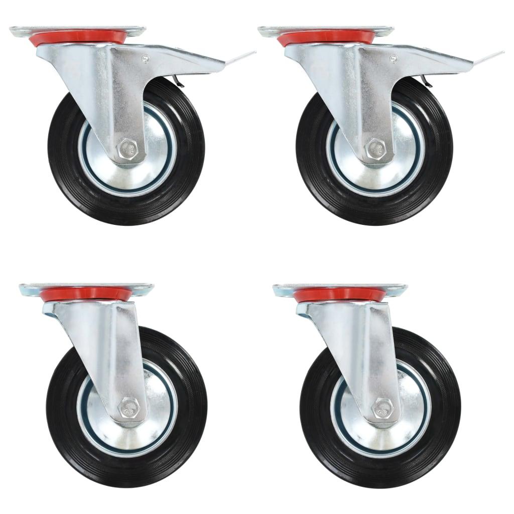 Okretni kotačići 8 kom 160 mm