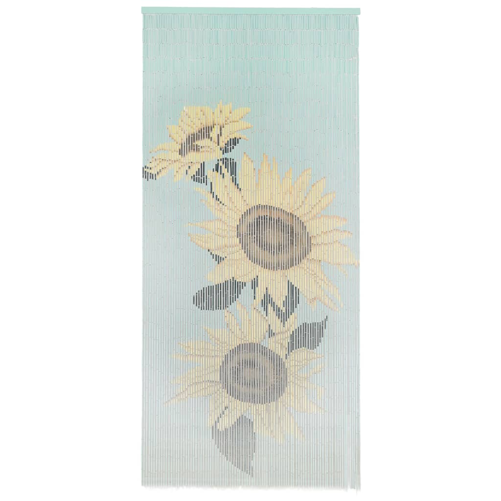vidaXL Dveřní závěs proti hmyzu bambus 90 x 200 cm