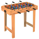 vidaXL Mini table de football 69x37x62 cm Érable