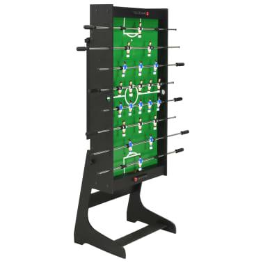 vidaXL Sulankstomas stalo futbolo stalas, 121x61x80cm, juodas[4/11]