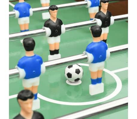 vidaXL Sulankstomas stalo futbolo stalas, 121x61x80cm, rudas[9/11]