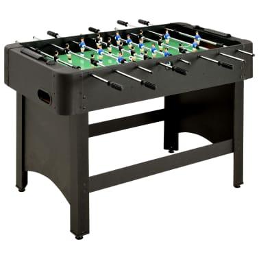 vidaXL Stalo futbolo stalas, juodos spalvos, 118x95x79cm[1/10]