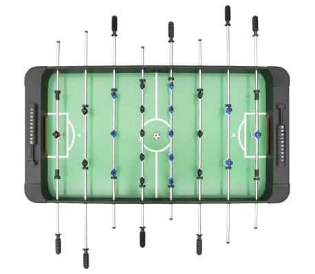 vidaXL Stalo futbolo stalas, juodos spalvos, 118x95x79cm[4/10]