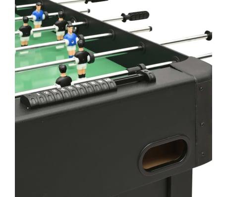 vidaXL Stalo futbolo stalas, juodos spalvos, 118x95x79cm[5/10]