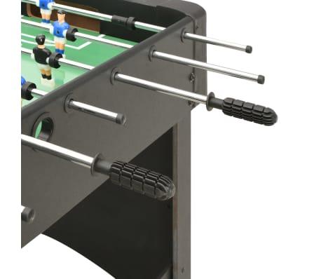vidaXL Stalo futbolo stalas, juodos spalvos, 118x95x79cm[6/10]