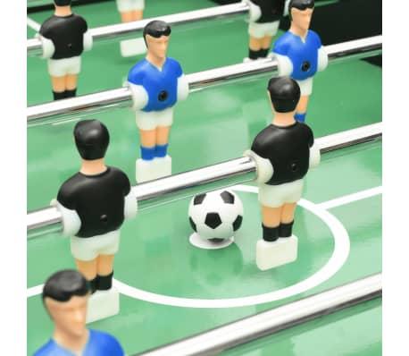 vidaXL Stalo futbolo stalas, juodos spalvos, 118x95x79cm[8/10]