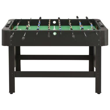 vidaXL Stalo futbolo stalas, juodos spalvos, 118x95x79cm[2/10]