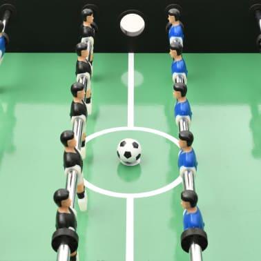 vidaXL Stalo futbolo stalas, juodos spalvos, 118x95x79cm[7/10]