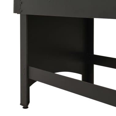 vidaXL Stalo futbolo stalas, juodos spalvos, 118x95x79cm[9/10]