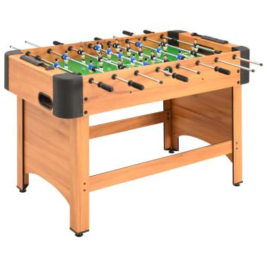 vidaXL Stalo futbolo stalas, klevo spalvos, 118x95x79cm[1/10]
