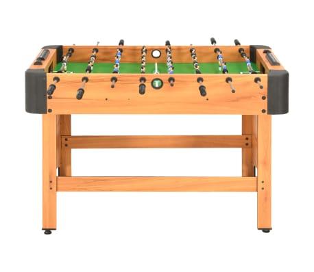 vidaXL Stalo futbolo stalas, klevo spalvos, 118x95x79cm[2/10]