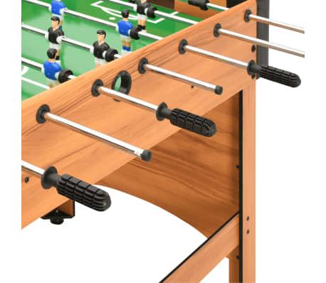 vidaXL Stalo futbolo stalas, klevo spalvos, 118x95x79cm[6/10]