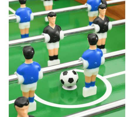 vidaXL Stalo futbolo stalas, klevo spalvos, 118x95x79cm[8/10]