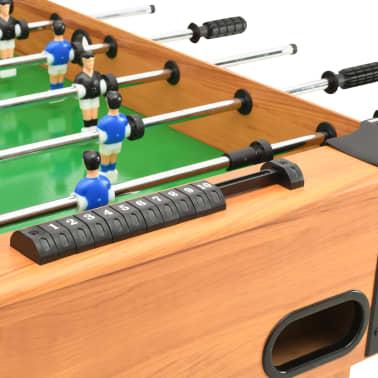 vidaXL Stalo futbolo stalas, klevo spalvos, 118x95x79cm[5/10]
