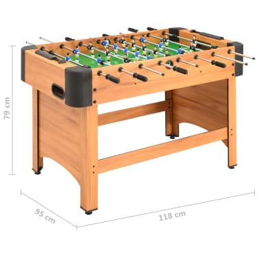 vidaXL Stalo futbolo stalas, klevo spalvos, 118x95x79cm[10/10]