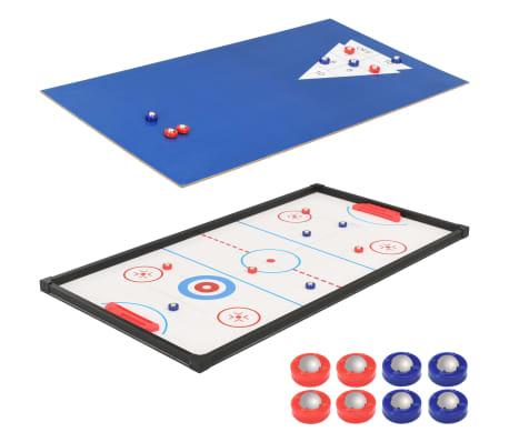 vidaXL Universalus žaidimų stalas, 15-1, klevo spalvos, 121x61x82cm[11/16]