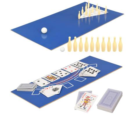 vidaXL Universalus žaidimų stalas, 15-1, klevo spalvos, 121x61x82cm[12/16]