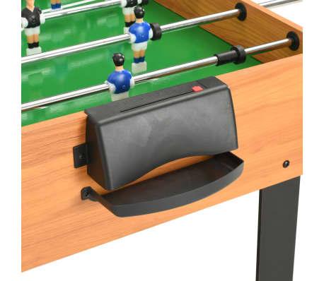 vidaXL Universalus žaidimų stalas, 15-1, klevo spalvos, 121x61x82cm[7/16]