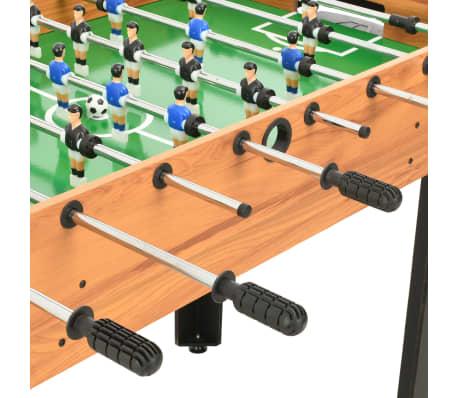 vidaXL Universalus žaidimų stalas, 15-1, klevo spalvos, 121x61x82cm[8/16]