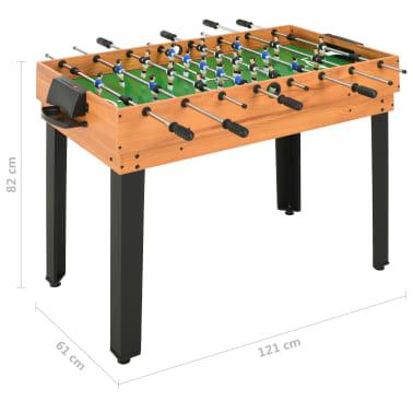 vidaXL Universalus žaidimų stalas, 15-1, klevo spalvos, 121x61x82cm[16/16]