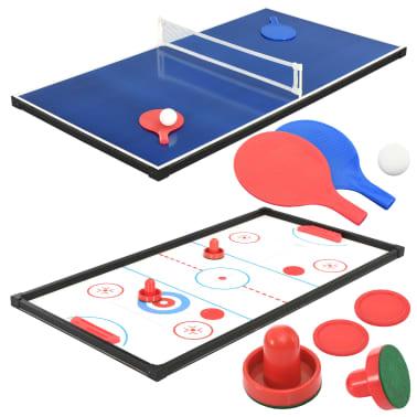 vidaXL Universalus žaidimų stalas, 15-1, klevo spalvos, 121x61x82cm[10/16]