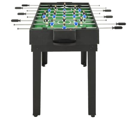 vidaXL Universalus žaidimų stalas, 15-1, juodos spalvos, 121x61x82cm[4/16]