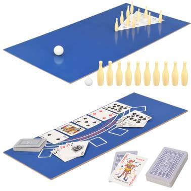 vidaXL Universalus žaidimų stalas, 15-1, juodos spalvos, 121x61x82cm[12/16]