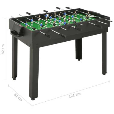vidaXL Universalus žaidimų stalas, 15-1, juodos spalvos, 121x61x82cm[16/16]