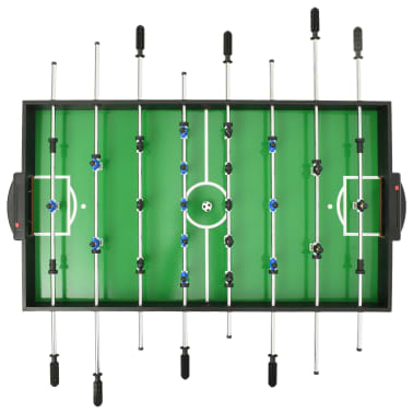 vidaXL Universalus žaidimų stalas, 15-1, juodos spalvos, 121x61x82cm[5/16]